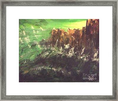 Raging Waters Framed Print