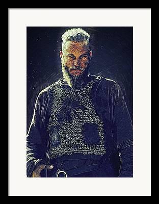 Rollo Digital Art Framed Prints