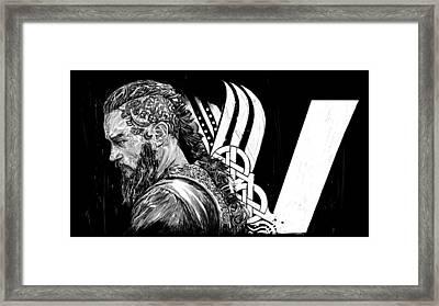 Ragnar Framed Print by Roman V