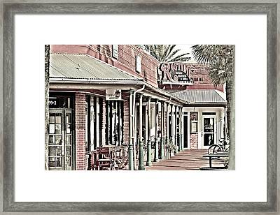 Ragtime At The Beach Framed Print