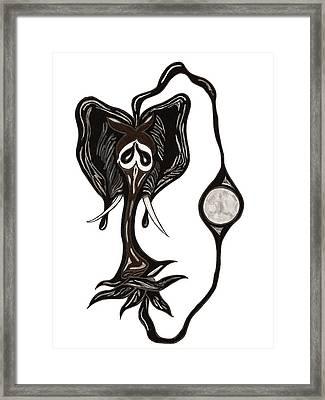 Rahu Framed Print by 2nd Planet Left