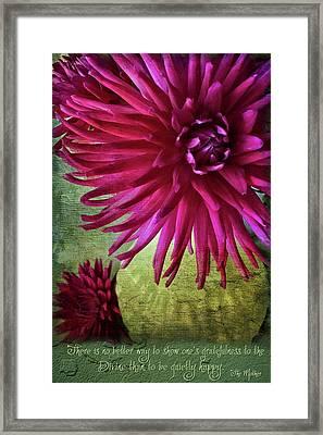 Rai Love Framed Print