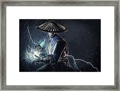 Raiden - Mortal Kombat Framed Print