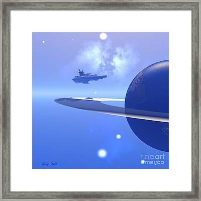 Raidor's Edge Framed Print by Corey Ford