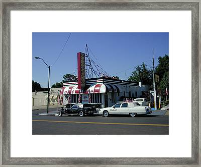Framed Print featuring the photograph Raifords Disco Memphis A by Mark Czerniec