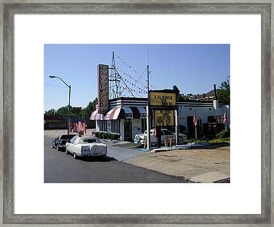 Framed Print featuring the photograph Raifords Disco Memphis B by Mark Czerniec