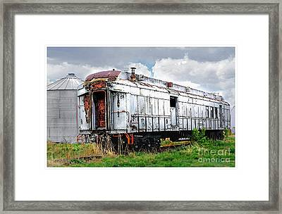 Rail Car Framed Print