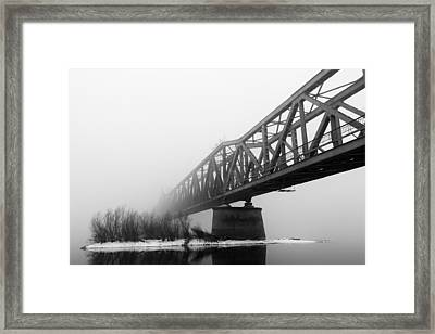 Railroad Bridge 02 Framed Print