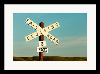 Rail Road Framed Prints