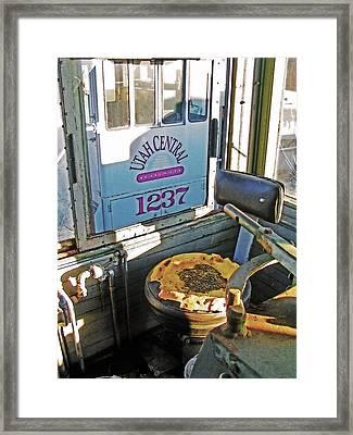 Railroad Museum 7 Framed Print by Steve Ohlsen
