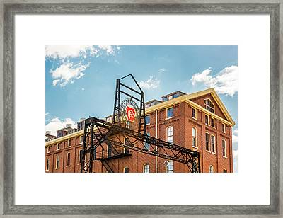 Prr Railroad Museum Framed Print by Eclectic Art Photos