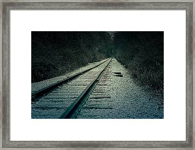 Railroad Framed Print by Scott Hovind