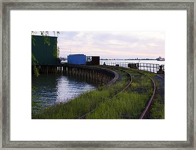 Railroad To Nowhere Framed Print