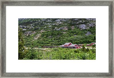 Railroad To The Yukon Framed Print