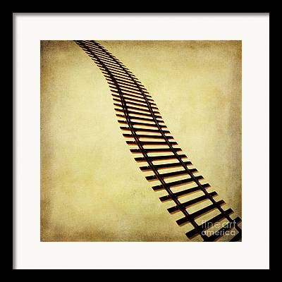 Toy Train Framed Prints