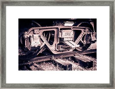 Railway Framed Print by Revel Photo