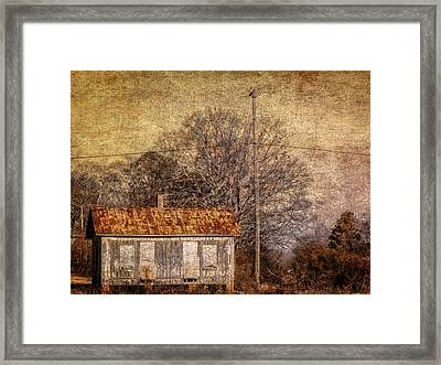 Railway Switching Station Framed Print by Phillip Burrow