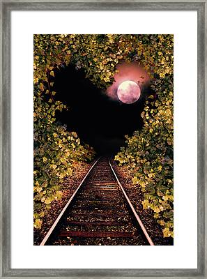 Railway To The Heart Framed Print