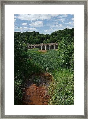 Railway Viaduct At Coalbrookdale Framed Print by Mickey At Rawshutterbug