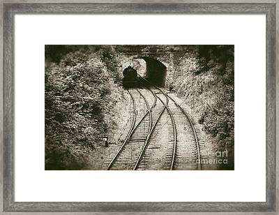 Railway - Vintage Style Framed Print