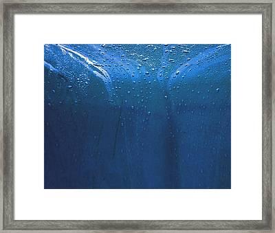 Rain 2 Framed Print by Mickie Boothroyd