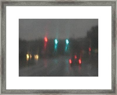Rain 6 Framed Print by Stephen Hawks