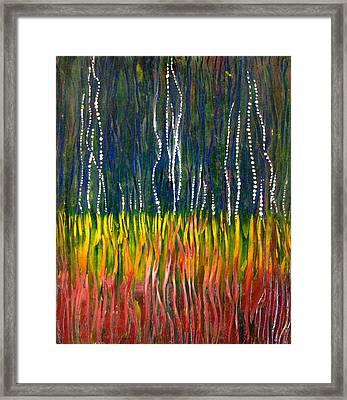 Rain At Last Framed Print