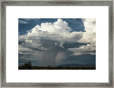 Framed Print featuring the photograph Rain, Beautiful Rain  by Saija Lehtonen