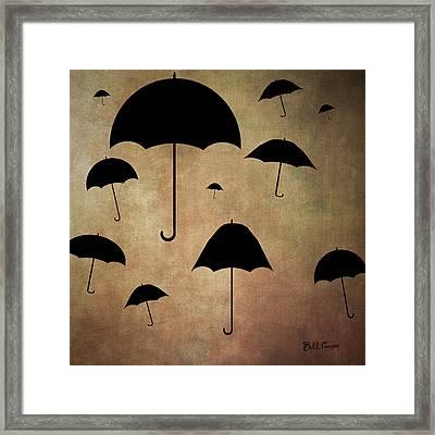Rain Drops Keep Falling On My Head Framed Print by Bill Cannon