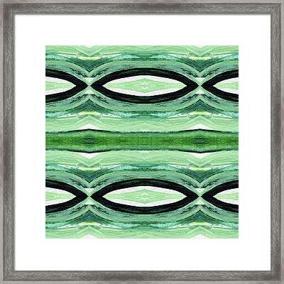 Rain Forest- Art By Linda Woods Framed Print