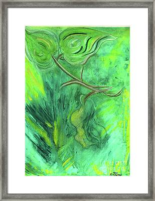 Rain Forest Revisited Framed Print