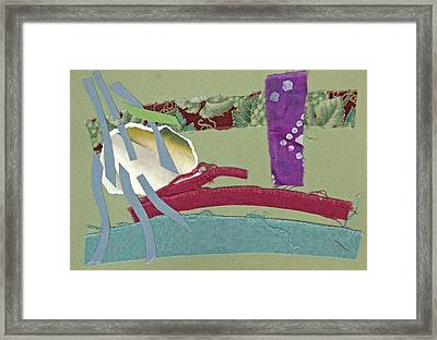 Rain In Late October Framed Print by Eileen Hale