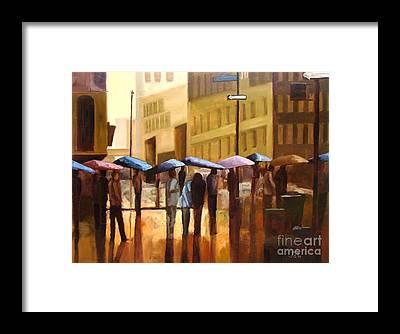 Umbrella Framed Prints