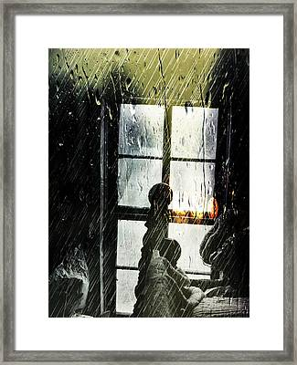 Rain In My Heart Framed Print