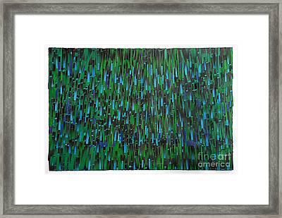 Rain Framed Print by Ken Falana