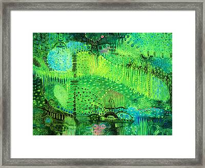 Rain Land I  Framed Print