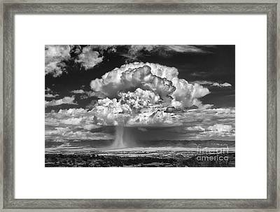 Rain Over Fruita Colorado II Framed Print