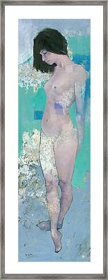 Rain Framed Print by Steve Mitchell