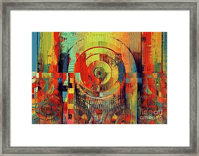 Rainbolo - 01t01ii Framed Print by Variance Collections