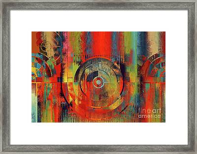 Rainbolo-1t1-j032103026 Framed Print