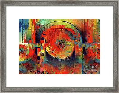 Rainbolo-1t1i-j050050237 Framed Print by Variance Collections
