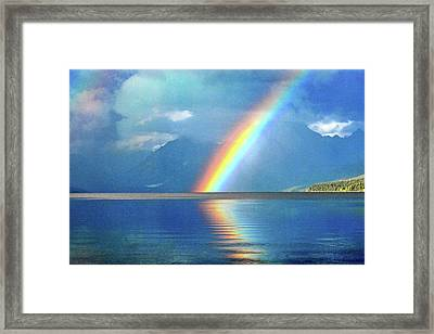 Rainbow 3 Framed Print by Marty Koch