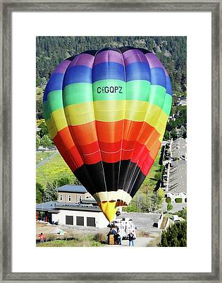 Rainbow Balloon 5 Framed Print