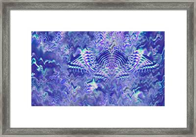 Rainbow Bat Framed Print by Joshua Sunday