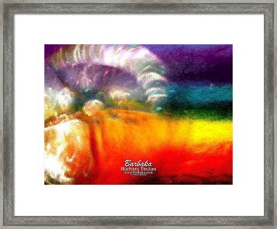 Framed Print featuring the photograph Rainbow Bliss #052833_ii by Barbara Tristan