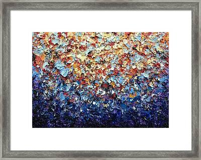 Rainbow Bloom Framed Print