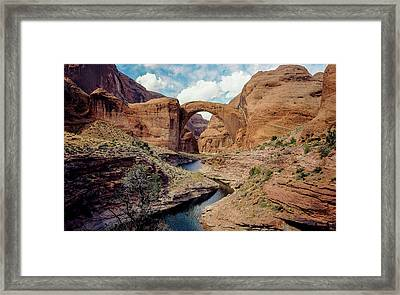 90117 Rainbow Bridge Framed Print