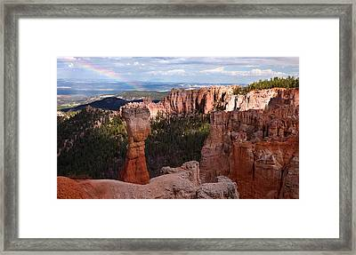 Rainbow Bryce Canyon Framed Print