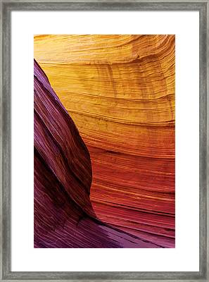 Rainbow Framed Print by Chad Dutson