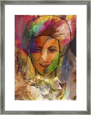 Rainbow Child Framed Print